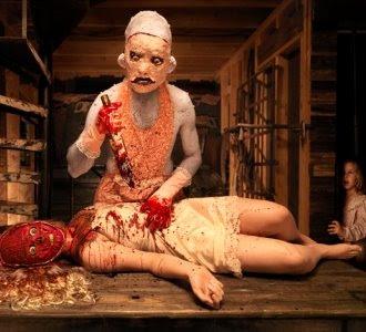 butchery scene