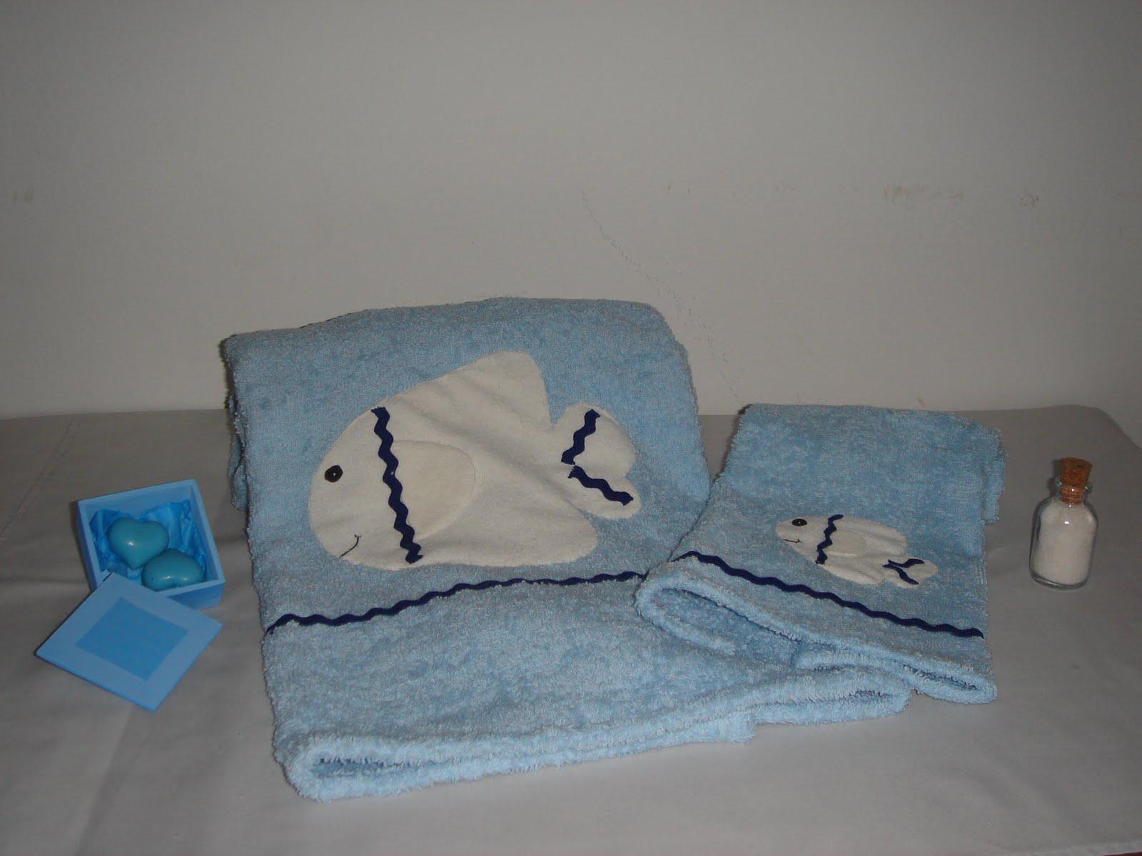 Habia una vez for Apliques para toallas