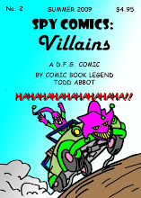 Spy Comics Villains #2