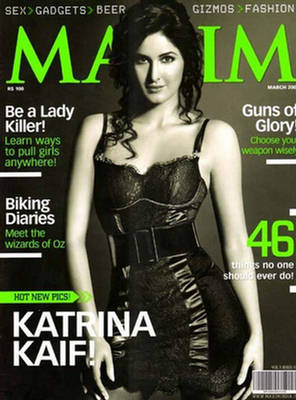 , Maxim India Cover Girls Scans 2008 | Maxim Indian Girls