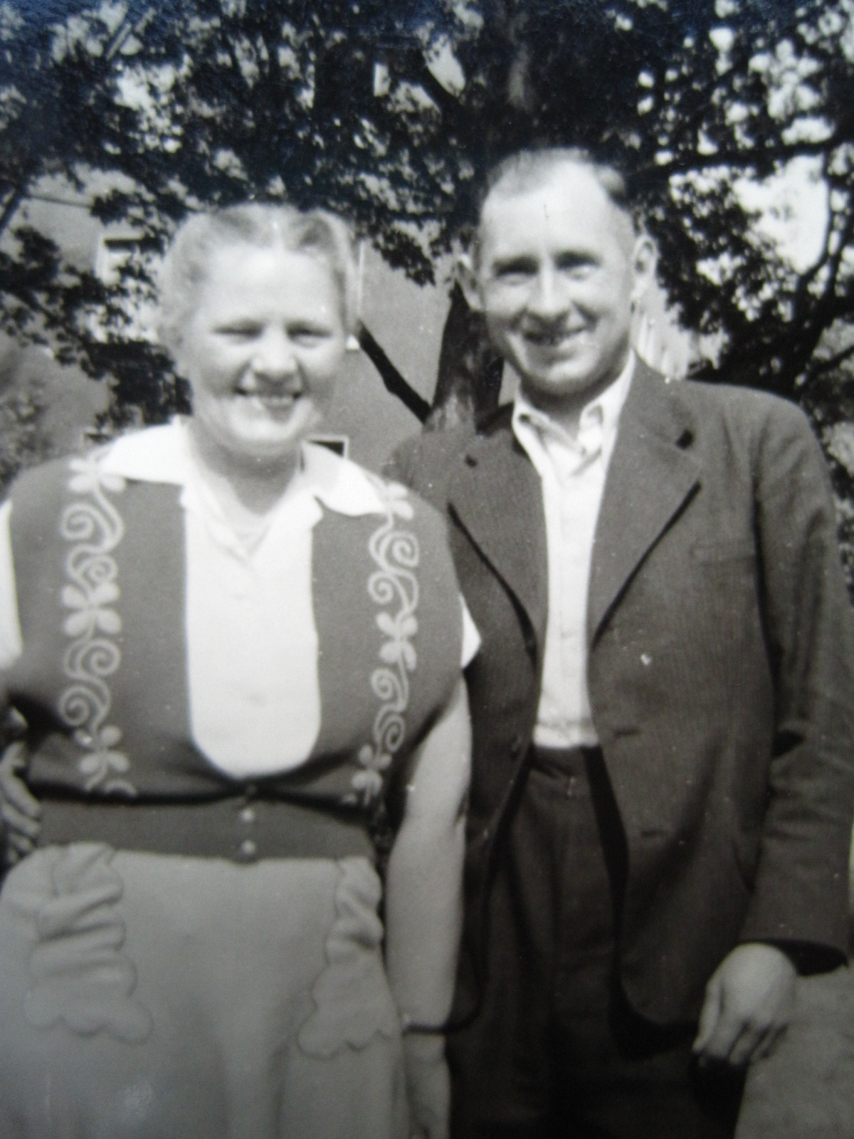 Opa and Oma around 1956 I