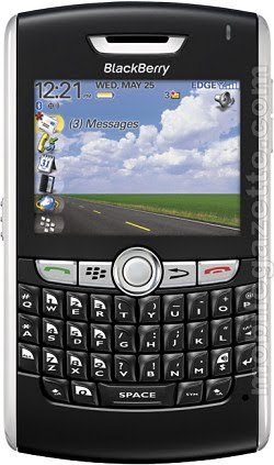 blackberry 8100 pearl  lost call logs