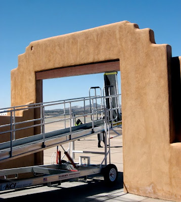 Gate at Santa Fe Municipal Airport