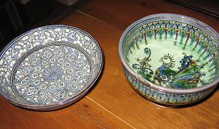 Santa Fe Folk Art Market, Uzbek Ceramic Pottery