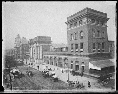 Boston, North Station, 1890s