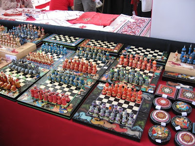 Folk Art Chess Sets, Santa Fe Folk Art Market