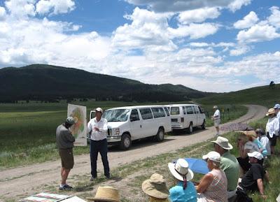 Dr. Kirt Kempter in the Valles Caldera