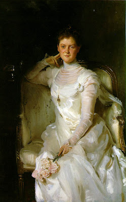 Portrait of Sarah Choate Sears by John Singer Sargent