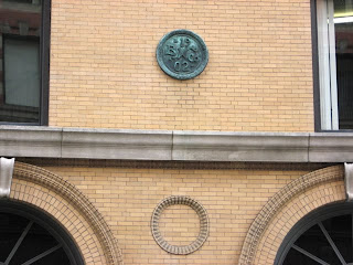 Boston Wharf Co. Sign on Necco Factory