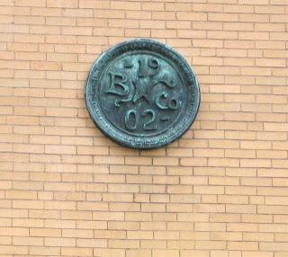 Boston Wharf Company sign on Necco Factory