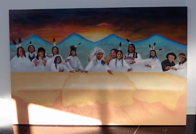 Native American Last Supper