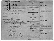 1947, Carnet de afiliado al Partido Peronista