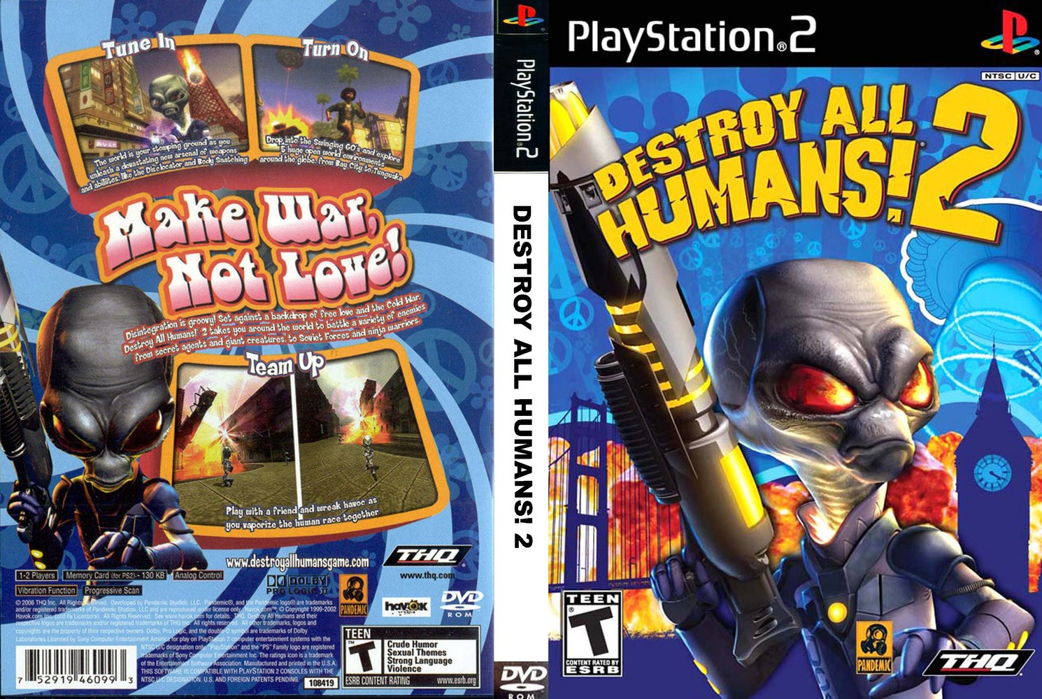 Destroy all humans free porn adult pic