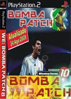 Winning Eleven 10: Bomba Patch 8.0 - PS2  NTSC
