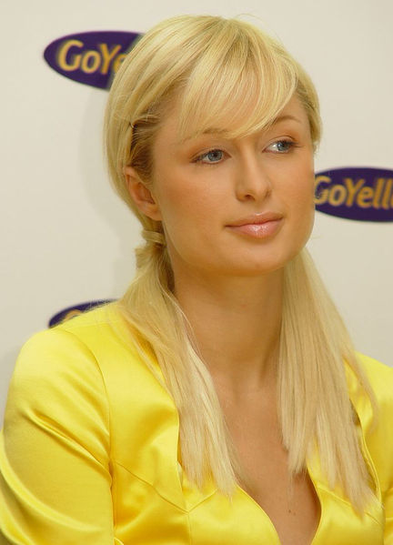 Paris Hilton latest Blonde and Elegant Bob hairstyles