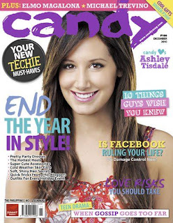 Ashley Tisdale On December 2010 Candy Magazine