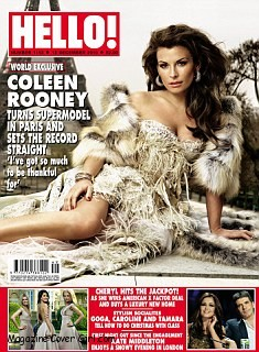 Coleen Rooney On UK Magazine Hello Cover Page