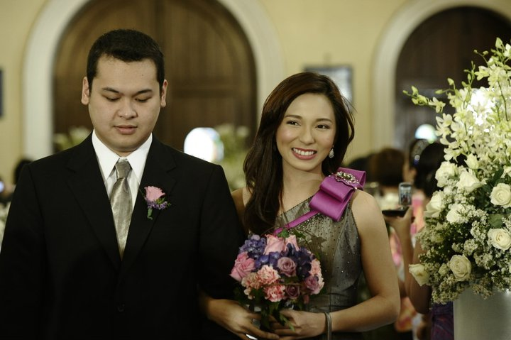 Maricel Soriano As The Ninang In Roxane And Elton Wedding