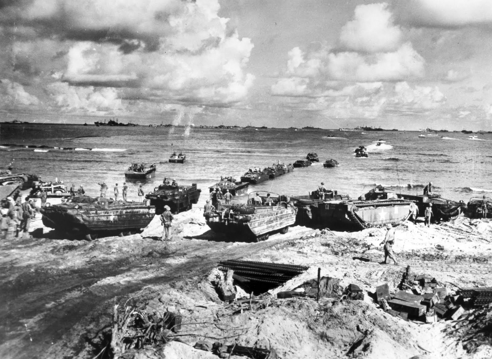 the marine assault on tinian essay