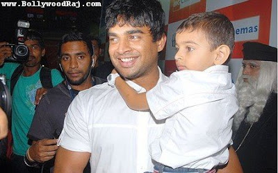 Madhavan family photos