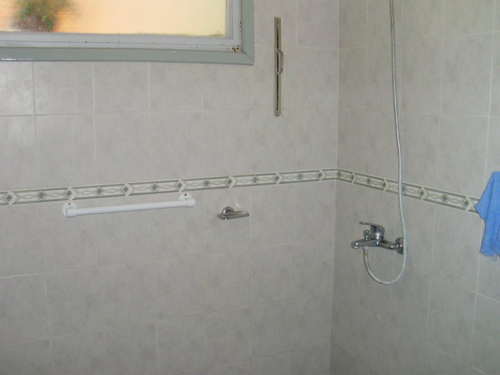 Baño Ducha Enfermeria:Residencia Diamante: Baños