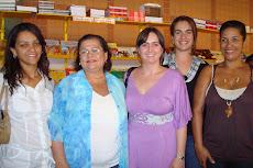 Colegas de curso e Lucilia Garcez