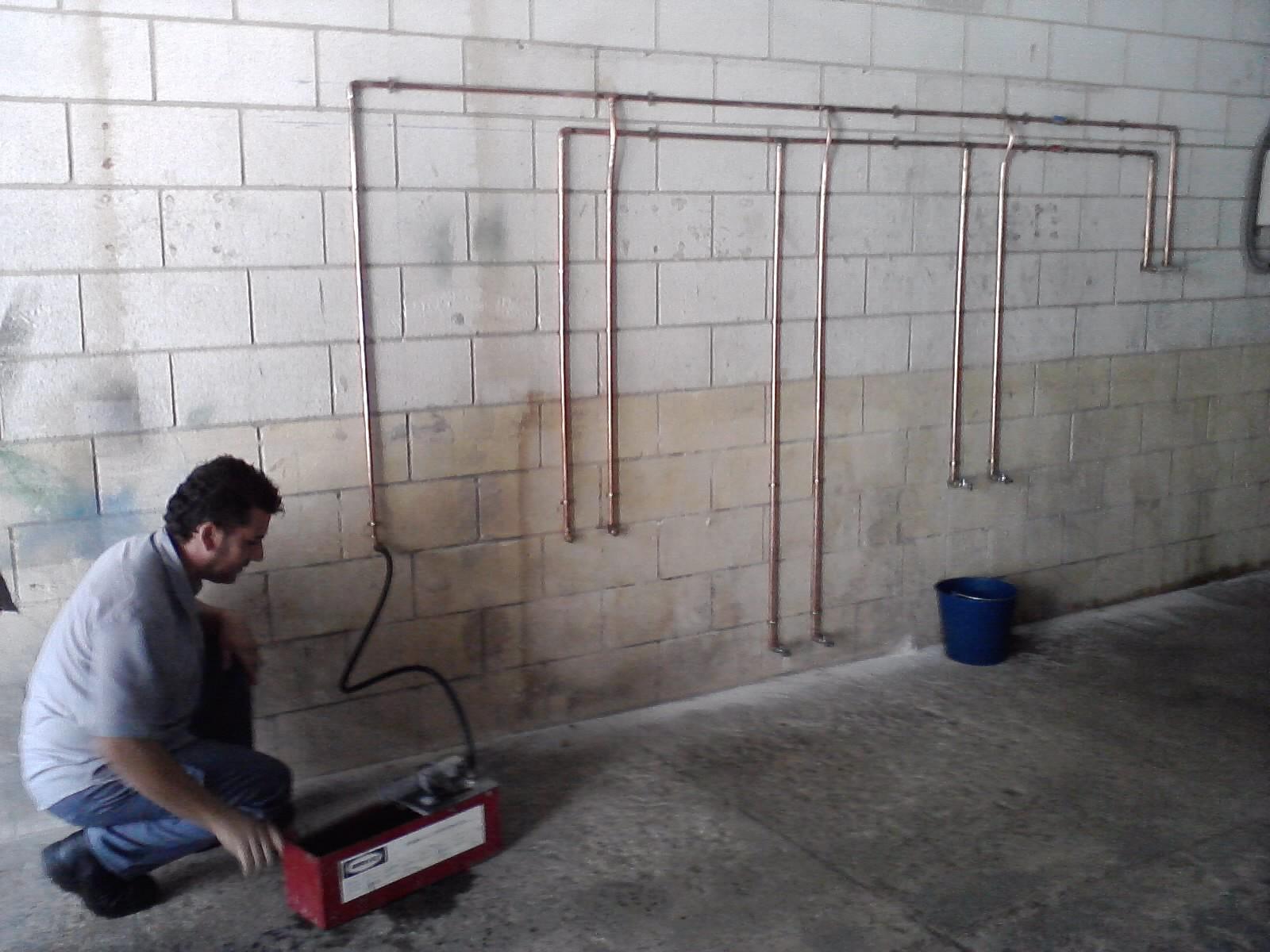 Taller de empleo la raya algunos trabajos de practicas - Trabajos de fontaneria ...