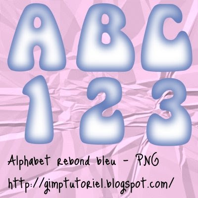 scrapbooking digital alphabet freebies bleu télécharger
