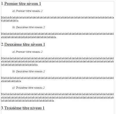 Styles de titres et num rotation automatique - Numerotation des pages sur open office ...