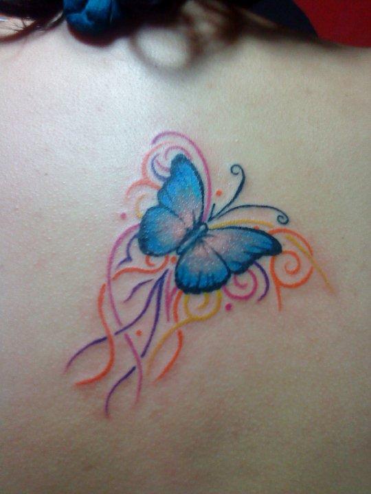 Tattoo Dermographic: TATTO MARIPOSAS