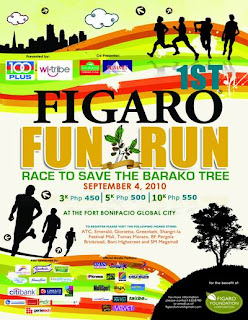 Figaro Fun Run Poster