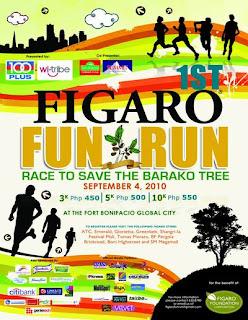 Figaro Fun Run Poster