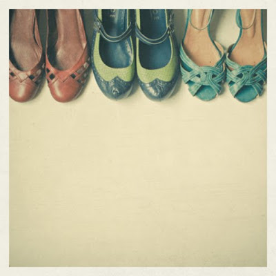 shoe collection print