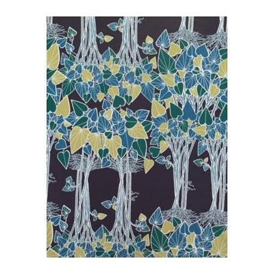 ivy leaf print