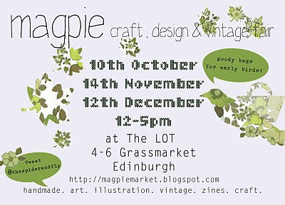 magpie market AW2010 flyer