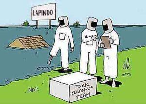 Toxic homes Sidoarjo