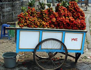 testicular rambutans for sale in Jakarta