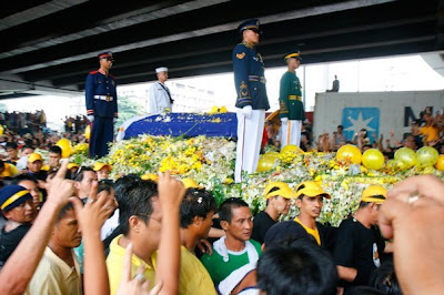Four Honor Guards of Cory Aquino