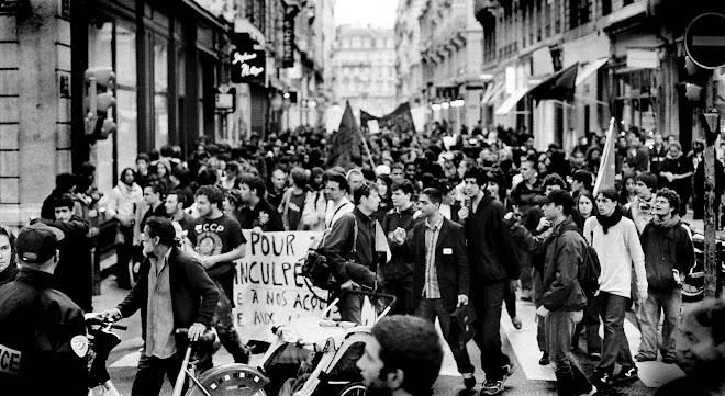 Manif contre Sarkozy