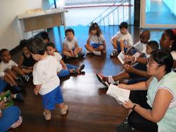 Aula inaugural na Unidade Infantil