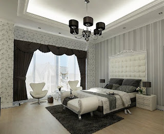 modern design bedroom furniture interior