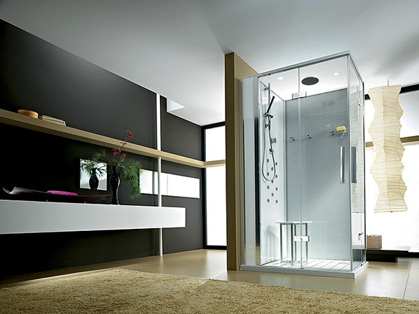 Bathroom Design With Glass