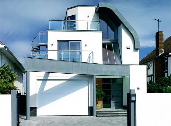 Exterior home design modern home minimalist minimalist home dezine Dezine house