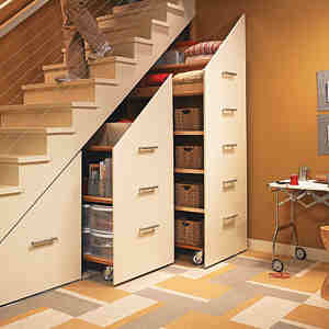 staircase cabinet design