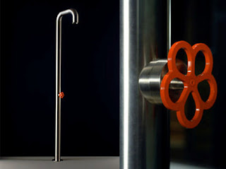 vanity shower bathroom design idea