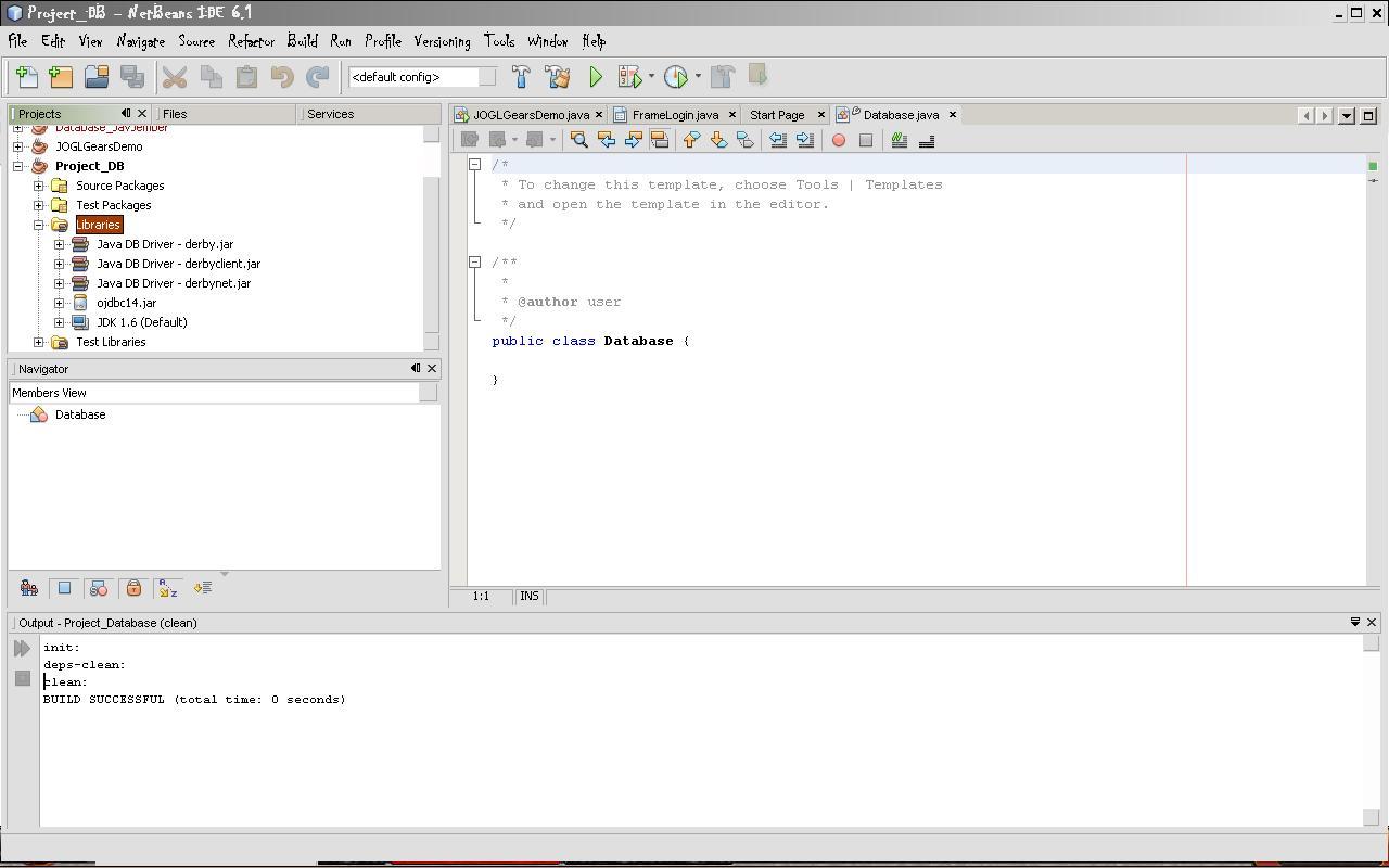 Dhafiq Sagara: Koneksi Oracle Pada Java (Netbeans