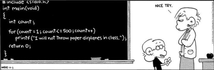 """Murid dihukum guru disuruh menulis """"I will not throw paper airplanes ..."""