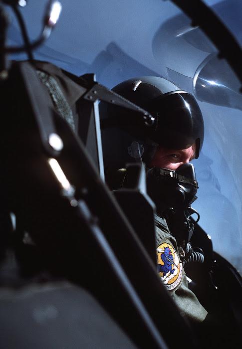 Major Mike O'Grady, F-16 Pilot