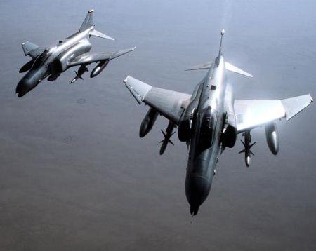 F-4 Phantoms over Iraq