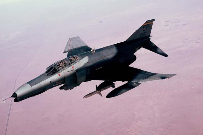 F-4 Phantom over Iraq